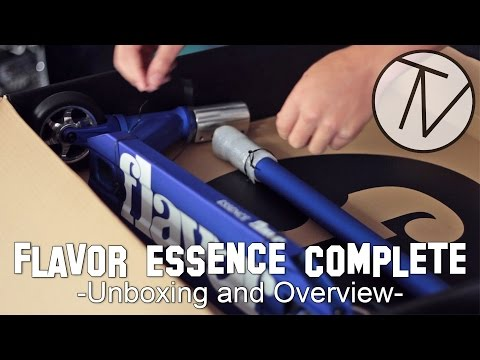 Flavor Essence Complete Unboxing and Overview │ The Vault Pro Scooters