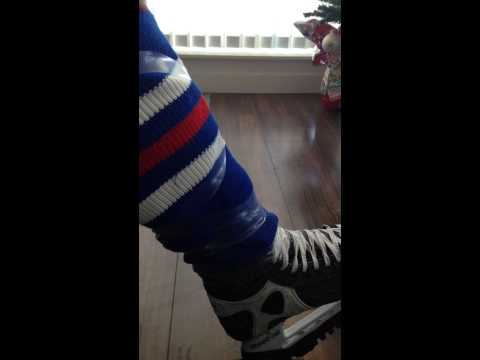 Ankle Stability Skate/Sock Taping
