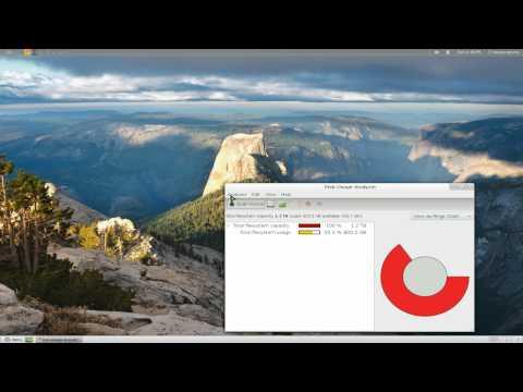 Baobab - GNOME Disk Usage Analyzer - Linux GNOME