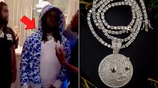 """Chief Keef """"Gets Glo Gang Jewelry Collection Stolen At Album Release Party"""""""