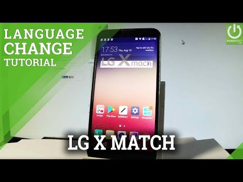 How to Change Language LG X Mach - Android List of Languages
