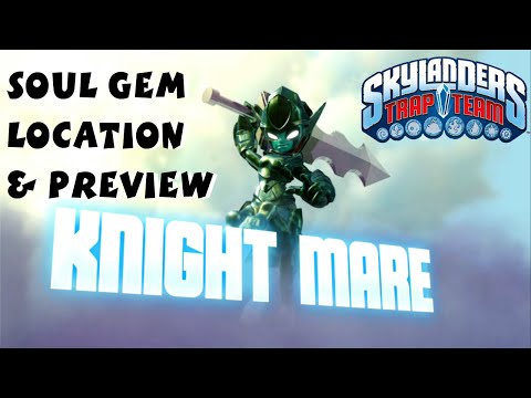 Knight Mare Soul Gem Preview and Location 1080P 60 fps - Skylanders Trap Team
