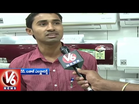 People Showing Interest In Inverter Air Conditioners | Summer | V6 News