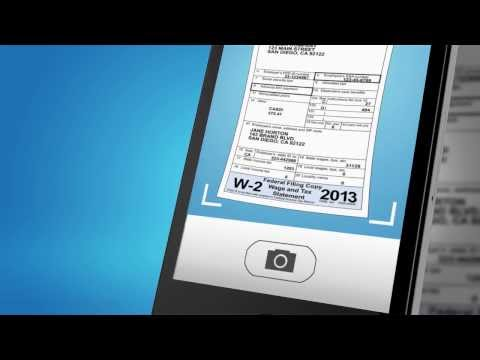TurboTax SnapTax App - Mobile Tax Prep for iPhone & Android - TurboTax Video Demo