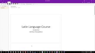 Introduction to Lingua Latina