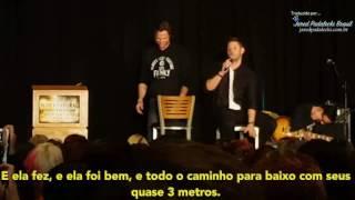 Jared e Jensen - Cenas mais estranhas de gravar (Dencon 2015)