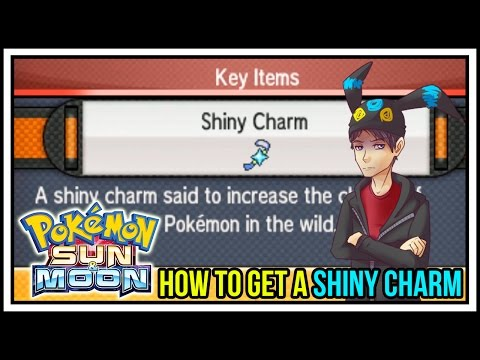 How to get a Shiny Charm in Pokemon Sun and Moon! Shiny Charm Guide!
