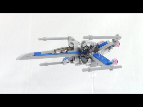 LEGO Star Wars X-wing - How to Build - Instructions!