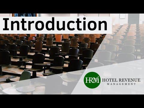 Hotel Revenue Management Introduction