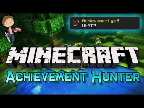 Minecraft: Achievement Hunter Challenge w/Mitch & Mat Part 2 - WHAT!?