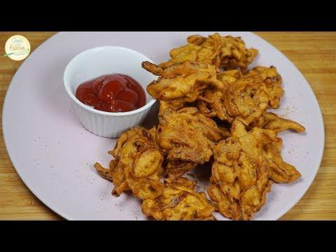 Piyaz Ke Pakoray - Pakode Recipe - Easy Snack Recipe  | Cook With Fariha (2018)
