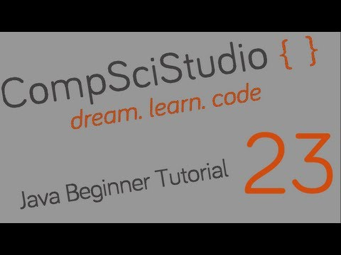Java Beginner Programming Tutorial 23 String Return Methods