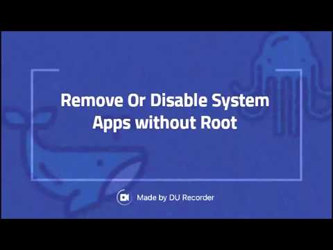 Remove or Disable system Apps Without Root