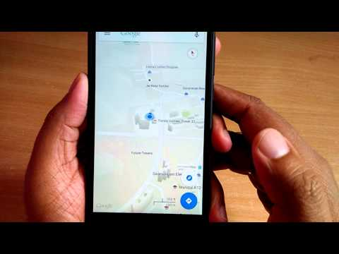 How to enable compass mode in google maps