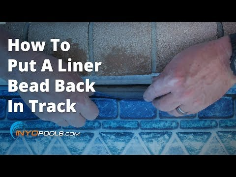 How To Put A Liner Bead Back In Track