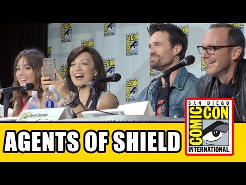 Agents of SHIELD Comic Con 2014 Panel