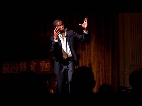 Joshua Bennett Performs at the White House Poetry Jam: (7 of 8)