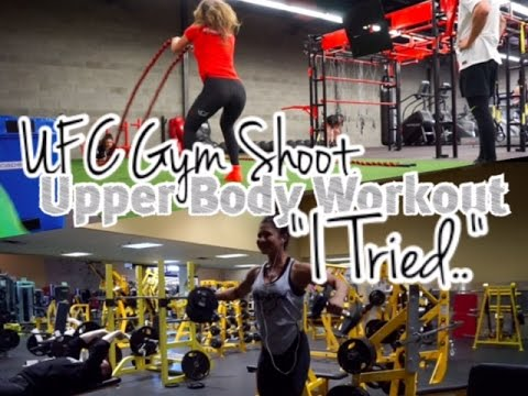 Upper Body Training   Meal 2 Fail   UFC Gym Video Shoot!   Pro Debut: My Journey, My Way Ep.#9