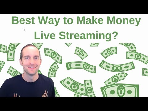 Best Ways to Make Money Live Streaming on YouTube, Facebook, Twitch, Twitter, Mixer, and DLive?