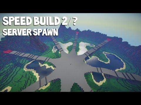 Minecraft Speed-Build | Server Spawn 2/2 | DOWNLOAD ✓ |
