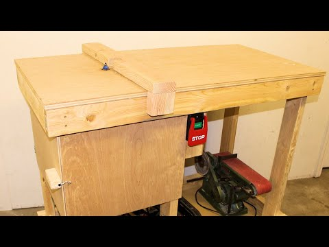 Building a Heavy Duty Router Table Station DIY // Woodworking How-To