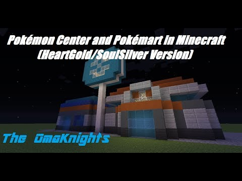 Pokémon Center and Pokémart in Minecraft!