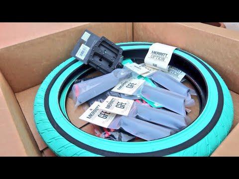 HE GOT A BOX OF BRAND NEW BMX PARTS!