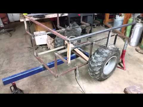 Building a new firewood trailer, pull behind quad