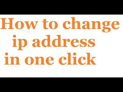 How to change ip address in one click - Change Ip Address to USA