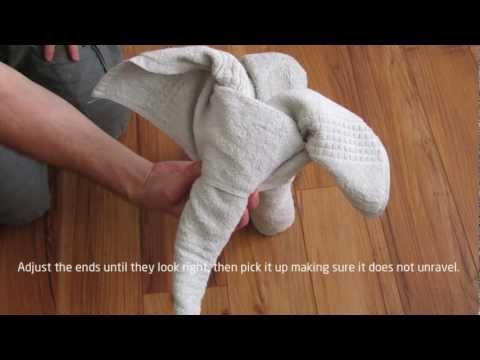 How to: A Towel Elephant