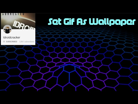 Set A GIF Animation As Wallpaper On Android