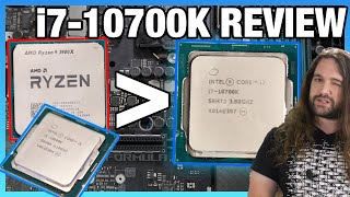 Hard to Justify: Intel Core i7-10700K CPU Review & Benchmarks vs. 3900X, 3700X, 10600K