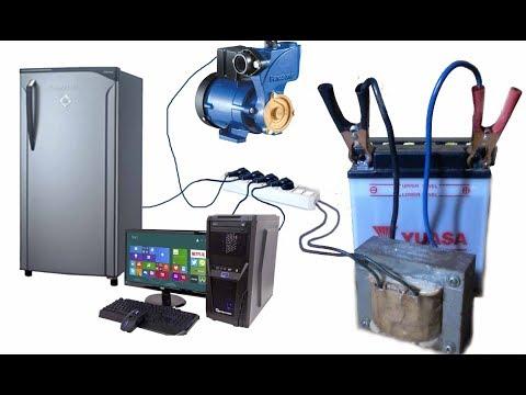 How to make STRONG INVERTER MT156 - 12V DC to 220V AC - Cara Membuat Kit MT156