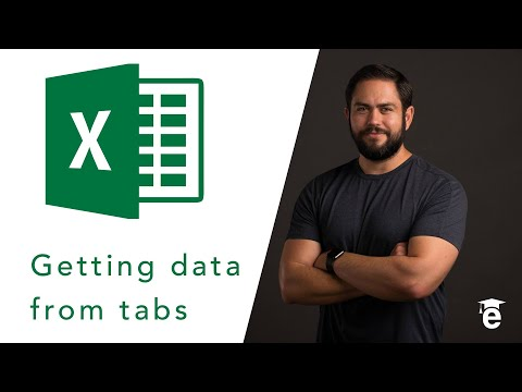 How to Pull Data from Tabs in Excel
