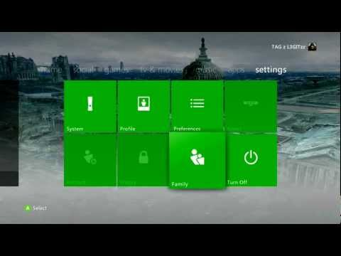 How to change your country and language settings xbox 360