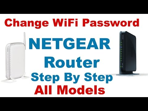 How To Change Netgear Router Wifi Password (Step By Step) -2017