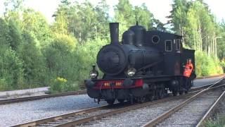 En museitåg resa från Falun till grycksbo