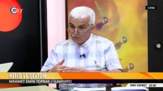 DİNİ SOHBET / MEHMET EMİN TOPRAK / İLAHİYATÇI / 19.07.2018