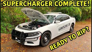 Rebuilding A Wrecked 2018 Dodge Charger Police Car Part 12