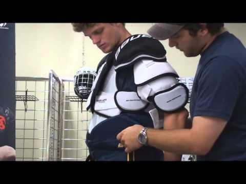 Fitting Hockey Shoulder Pads