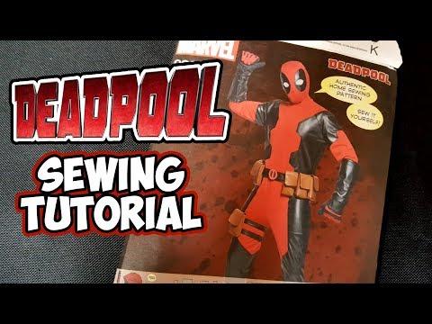 DIY Deadpool sewing tutorial