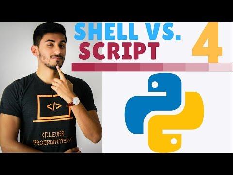 Learn Python Programming - 4 - Interactive Shell vs. Script