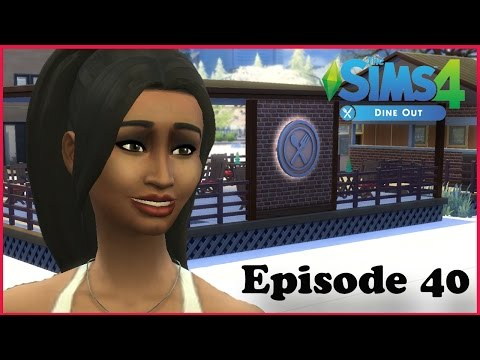 Sims 4 Dine Out! Ep 40: Housewarming & Employee Lunch!