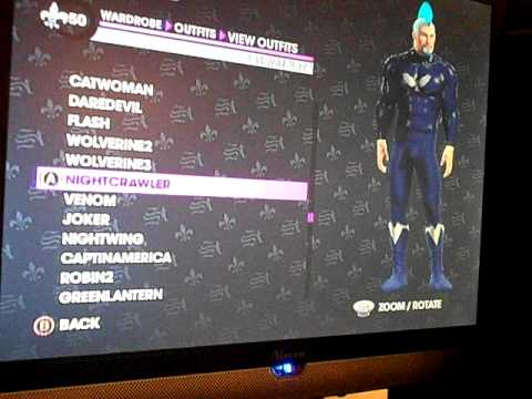 Superhero Looks For Saints Row 3