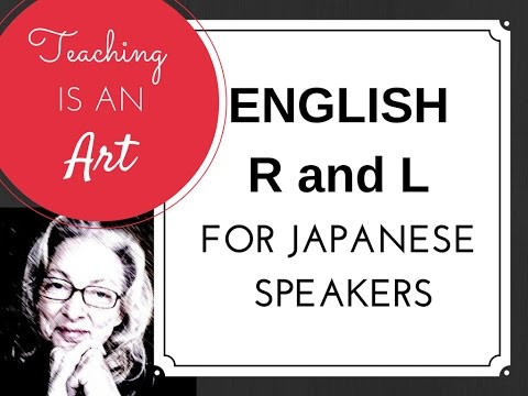 American R & L for Japanese Speakers