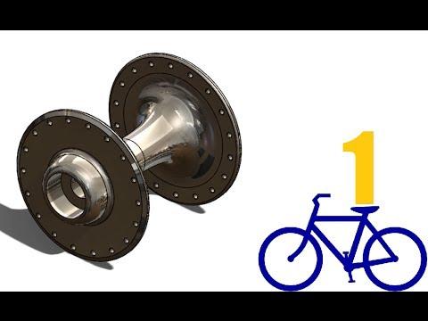 SolidWorks P Tutorial #148: Bike Wheel front Disk