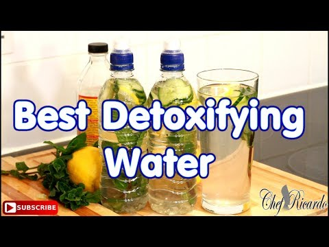 The Best Detoxifying Water How To Lose Weight | Recipes By Chef Ricardo