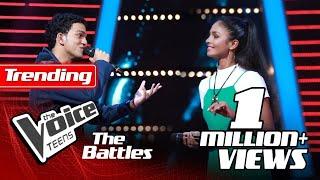 The Battles : Sameena Nishshanka V Shehara Dilakshana | Sanda Mithuri | The Voice Teen Sri Lanka