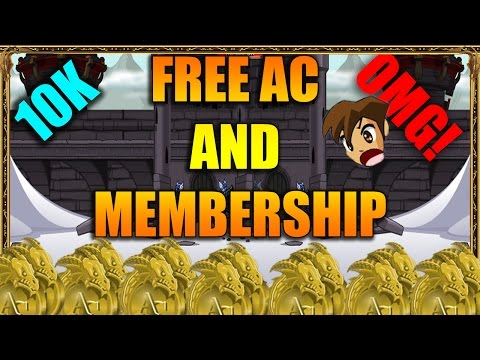 AQW HOW TO GET FREE ADVENTURE COINS, ARTIX POINTS, MEMBERSHIP 2017 (WORKING!!)
