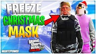 All Christmas Mask Gta 5.Gta5 I New Freeze Xmas Mask On Outfits Director Mode